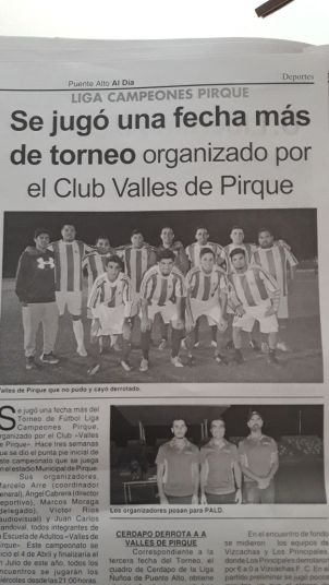 Valles De Pirque Fútbol Club 08